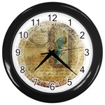 Tag 1763336 1280 Wall Clock (Black) Front
