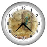 Tag 1763336 1280 Wall Clock (Silver) Front