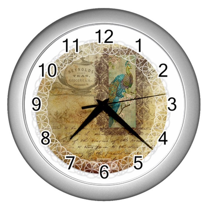 Tag 1763336 1280 Wall Clock (Silver)
