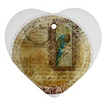 Tag 1763336 1280 Heart Ornament (Two Sides) Back