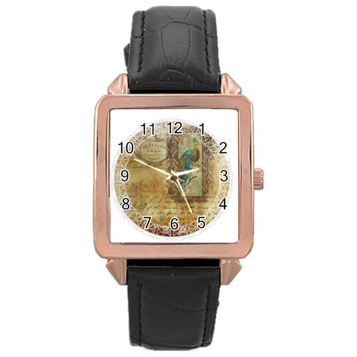 Tag 1763336 1280 Rose Gold Leather Watch