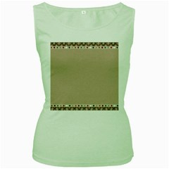 Background 1706649 1920 Women s Green Tank Top