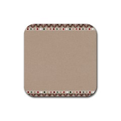 Background 1706649 1920 Rubber Square Coaster (4 Pack)