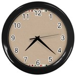 Background 1706649 1920 Wall Clock (Black) Front