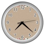 Background 1706649 1920 Wall Clock (Silver) Front