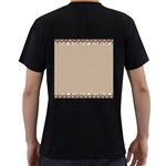 Background 1706649 1920 Men s T-Shirt (Black) (Two Sided) Back