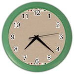 Background 1706649 1920 Color Wall Clock Front