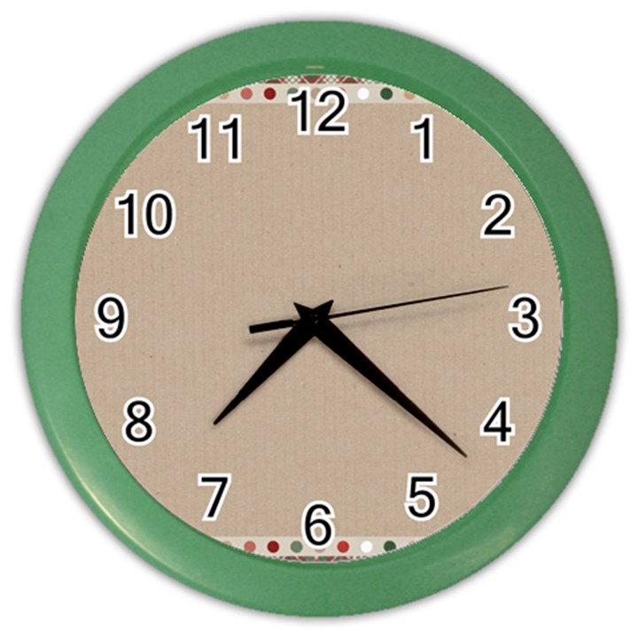 Background 1706649 1920 Color Wall Clock