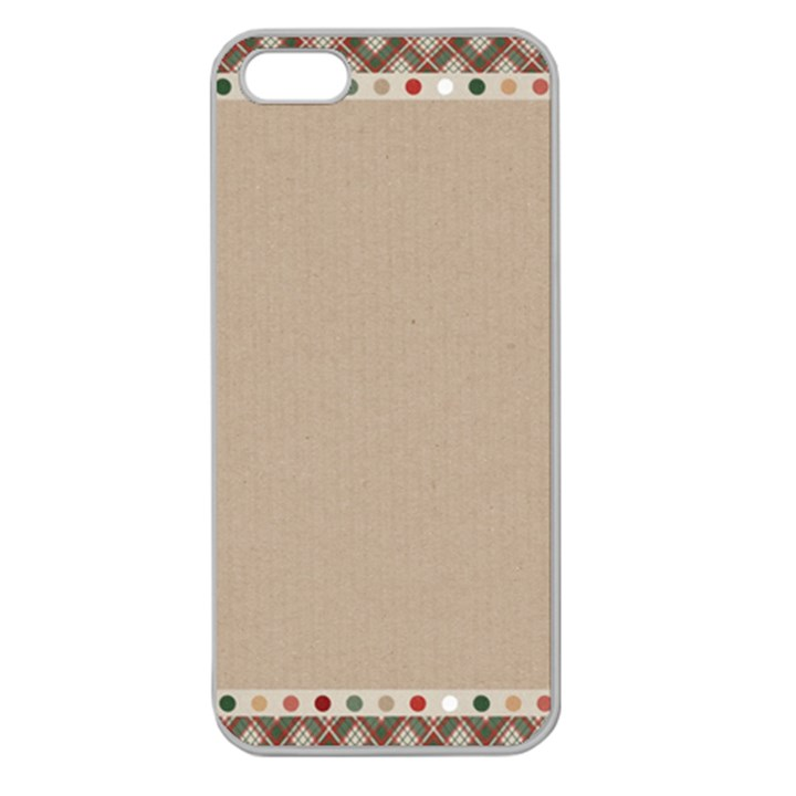 Background 1706649 1920 Apple Seamless iPhone 5 Case (Clear)