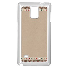 Background 1706649 1920 Samsung Galaxy Note 4 Case (white) by vintage2030