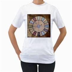 Collage 1706638 1920 Women s T Shirt (white) (two Sided)