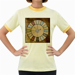 Collage 1706638 1920 Women s Fitted Ringer T Shirt by vintage2030