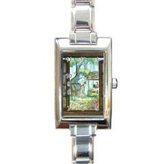 Town 1660349 1280 Rectangle Italian Charm Watch