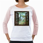 Town 1660349 1280 Girly Raglan Front