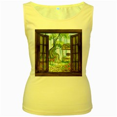 Town 1660349 1280 Women s Yellow Tank Top