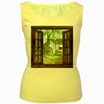 Town 1660349 1280 Women s Yellow Tank Top Front