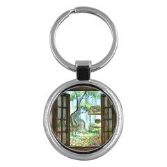 Town 1660349 1280 Key Chains (Round)