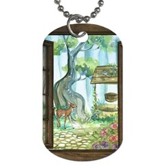 Town 1660349 1280 Dog Tag (Two Sides)