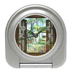 Town 1660349 1280 Travel Alarm Clock by vintage2030