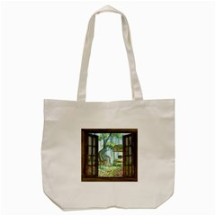 Town 1660349 1280 Tote Bag (Cream)