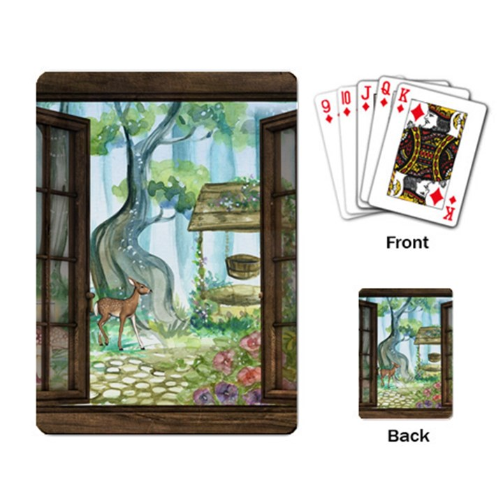 Town 1660349 1280 Playing Cards Single Design