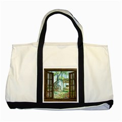 Town 1660349 1280 Two Tone Tote Bag