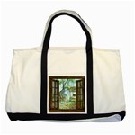 Town 1660349 1280 Two Tone Tote Bag Front