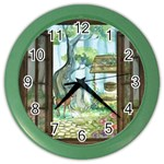 Town 1660349 1280 Color Wall Clock Front