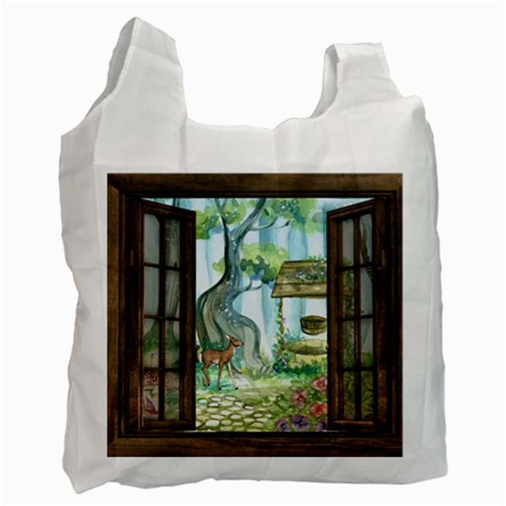 Town 1660349 1280 Recycle Bag (Two Side)