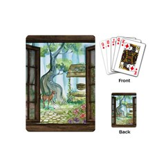 Town 1660349 1280 Playing Cards (Mini)