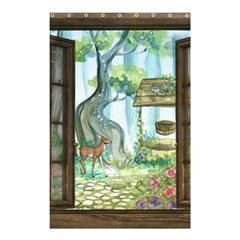 Town 1660349 1280 Shower Curtain 48  x 72  (Small)