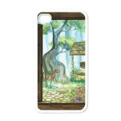 Town 1660349 1280 Apple iPhone 4 Case (White)