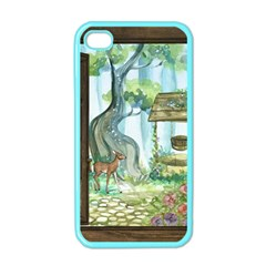 Town 1660349 1280 Apple iPhone 4 Case (Color)