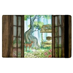 Town 1660349 1280 Apple Ipad 3/4 Flip Case