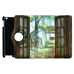 Town 1660349 1280 Apple Ipad 2 Flip 360 Case by vintage2030