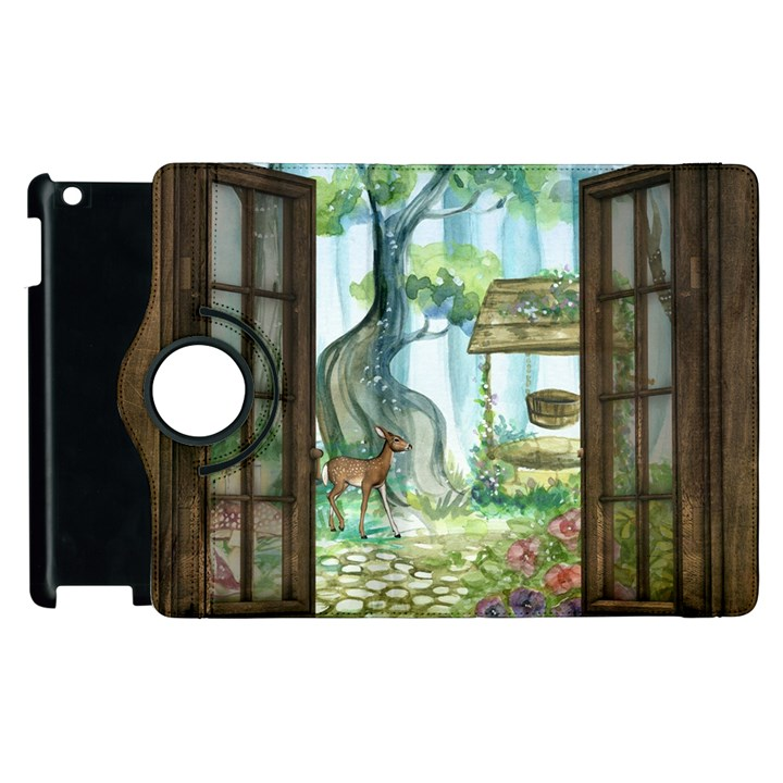 Town 1660349 1280 Apple iPad 2 Flip 360 Case