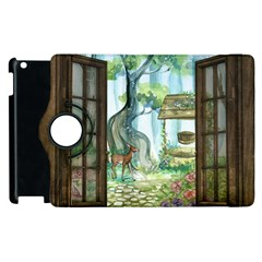 Town 1660349 1280 Apple iPad 3/4 Flip 360 Case