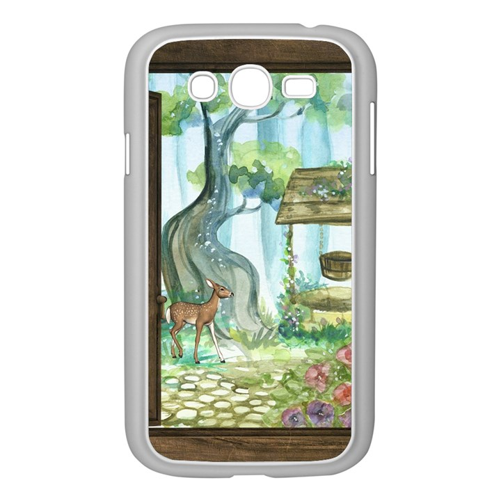 Town 1660349 1280 Samsung Galaxy Grand DUOS I9082 Case (White)