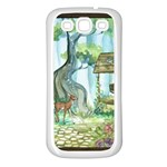 Town 1660349 1280 Samsung Galaxy S3 Back Case (White) Front