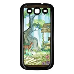 Town 1660349 1280 Samsung Galaxy S3 Back Case (Black)