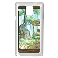 Town 1660349 1280 Samsung Galaxy Note 4 Case (White)