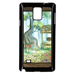 Town 1660349 1280 Samsung Galaxy Note 4 Case (Black)