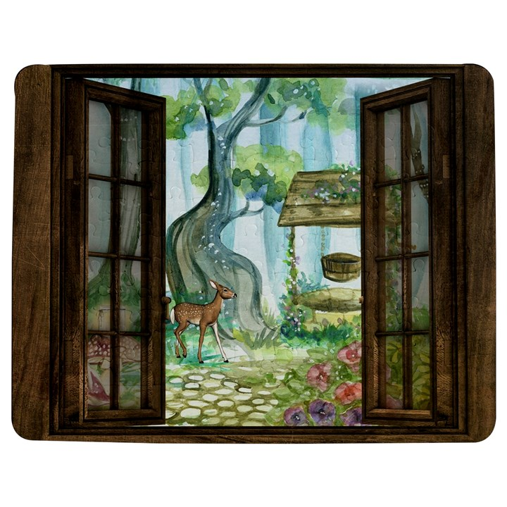 Town 1660349 1280 Jigsaw Puzzle Photo Stand (Rectangular)