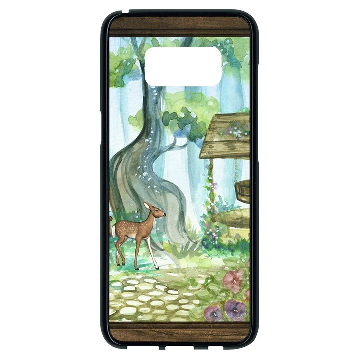 Town 1660349 1280 Samsung Galaxy S8 Black Seamless Case