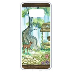 Town 1660349 1280 Samsung Galaxy S8 White Seamless Case by vintage2030