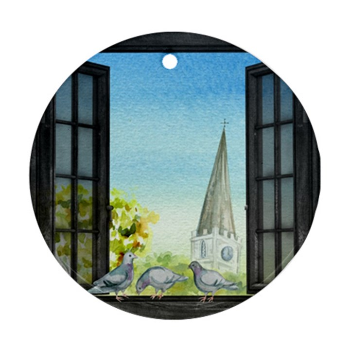Town 1660455 1920 Ornament (Round)