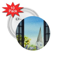 Town 1660455 1920 2 25  Buttons (10 Pack)