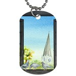 Town 1660455 1920 Dog Tag (One Side) Front