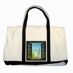 Town 1660455 1920 Two Tone Tote Bag