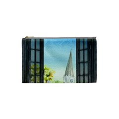 Town 1660455 1920 Cosmetic Bag (small) by vintage2030